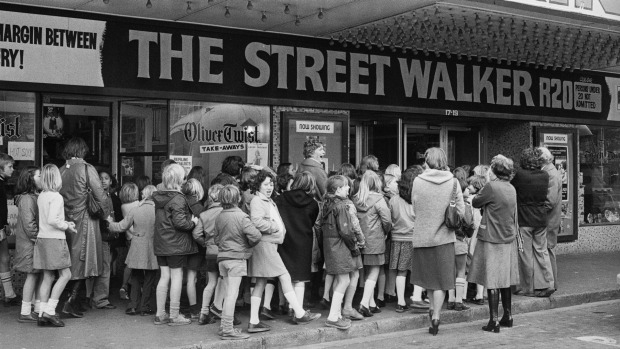 Kings Theatre, Dixon St, Wellington, 1978.